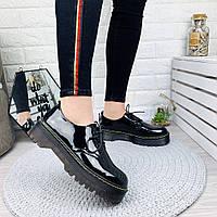 Стильные туфли-броги на шнуровке38  39рр