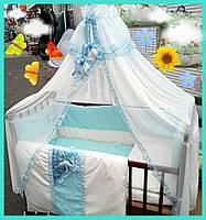 Детское постельное белье Bonna Lux, бирюза