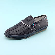 Мокасины туфли синие на мальчика тм Том.М размер 35,36,37,39, фото 3