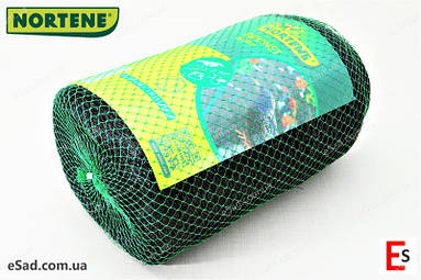 Захисна сітка від птахів Nortene темно-зелена, (8х