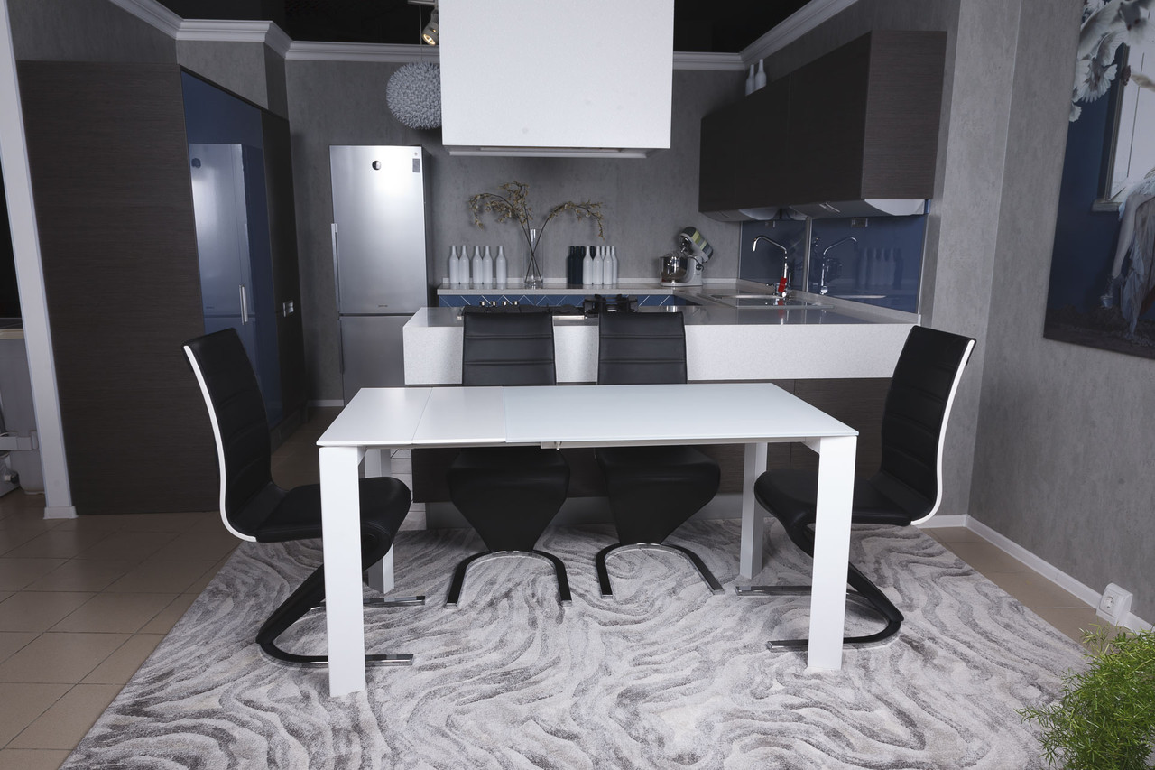 Стол обеденный Nicolas BRISTOL B 130/200х85х75 см белый