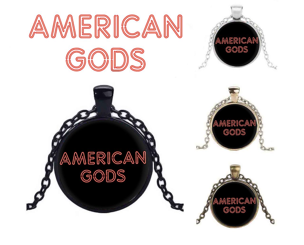 Кулон Американские боги / American Gods с названием