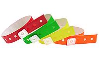 Контрольные виниловые (ПВХ) браслеты  L - тип.