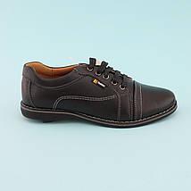 Туфли на мальчика Черные тм Том.М размер 33,34,35,36,37,38, фото 2