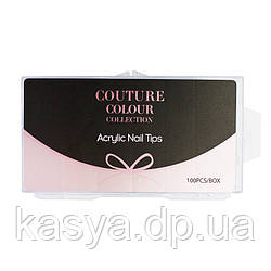 Верхні форми Couture Colour Nail Tips, 100 штук