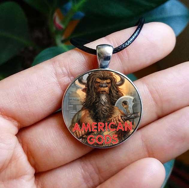 Американские боги кулон