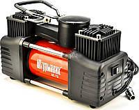 Двухцилиндровый авто компрессор Штурмовик 60 л/мин 10 атм (5400)