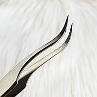 Пинцет STALEKS PRO для ресниц ТЕ-41/1 (плавно изогнутый)
