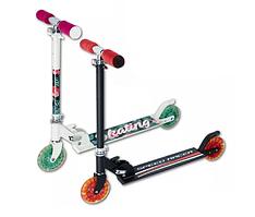 Самокат детский со светодиодными колесами двухколёсный