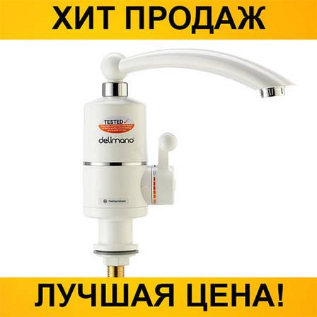 Проточный водонагреватель Deimanо на кран, фото 2