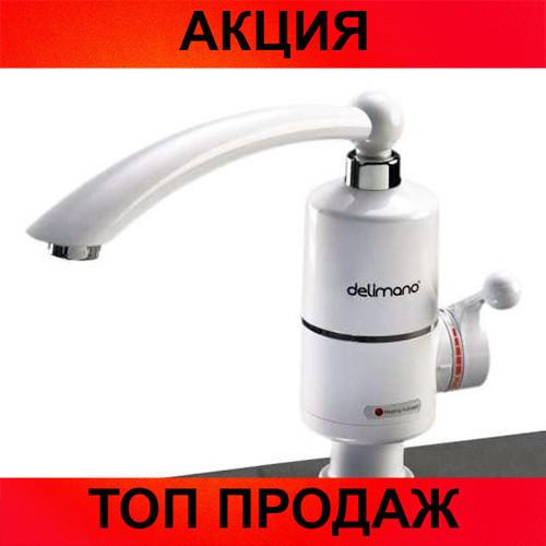 Проточный водонагреватель Deimanо на кран!Хит цена