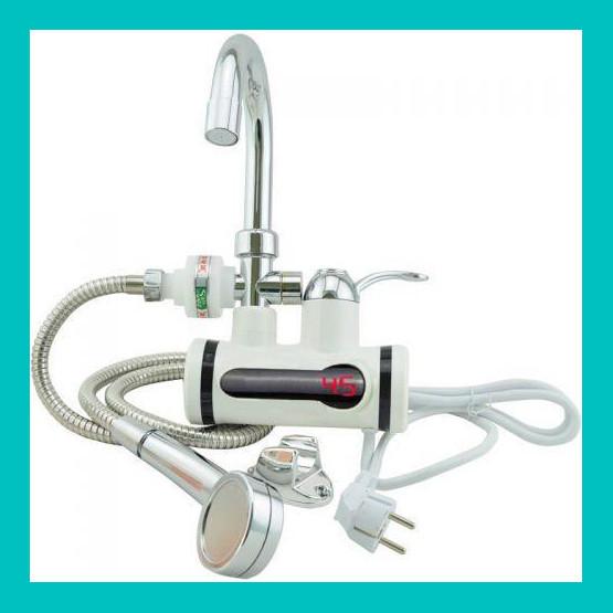 Проточный водонагреватель Deimanо с душем