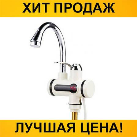 Проточный водонагреватель Deimanо с краном, фото 2