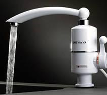 Проточный водонагреватель Deimanо электрический на кран смеситель, фото 2