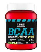 BCAA аминокислоты UNS BCAA 2-1-1 Instant (500 г)
