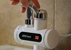Проточный водонагреватель кран Deimanо с дисплеем, фото 2