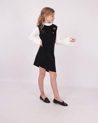 Детское школьное платье для девочки от BEAR RICHI 287042 | 140-170р., фото 2