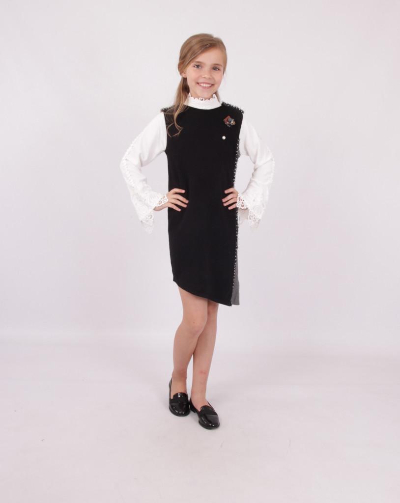 Детское школьное платье для девочки от BEAR RICHI 287042 | 140-170р.