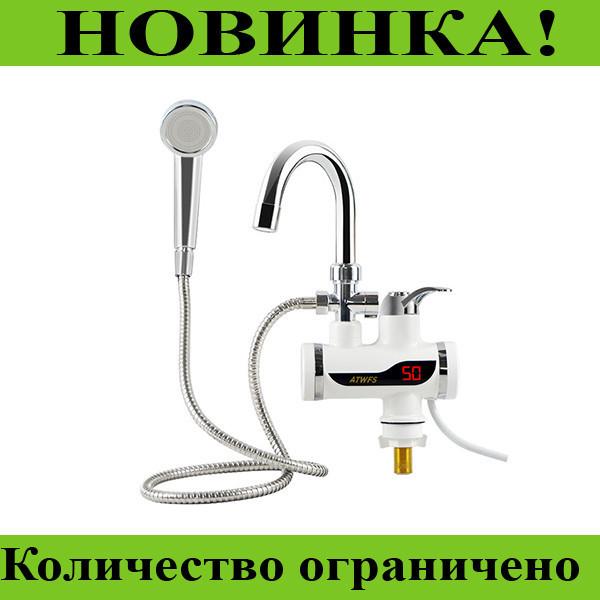 Проточный водонагреватель с душем Deimanо и экраном!Розница и Опт
