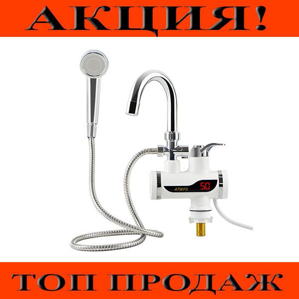 Проточный водонагреватель с душем Deimanо и экраном!Хит цена