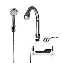 Проточный водонагреватель с душем Deimanо и экраном!Хит цена, фото 2