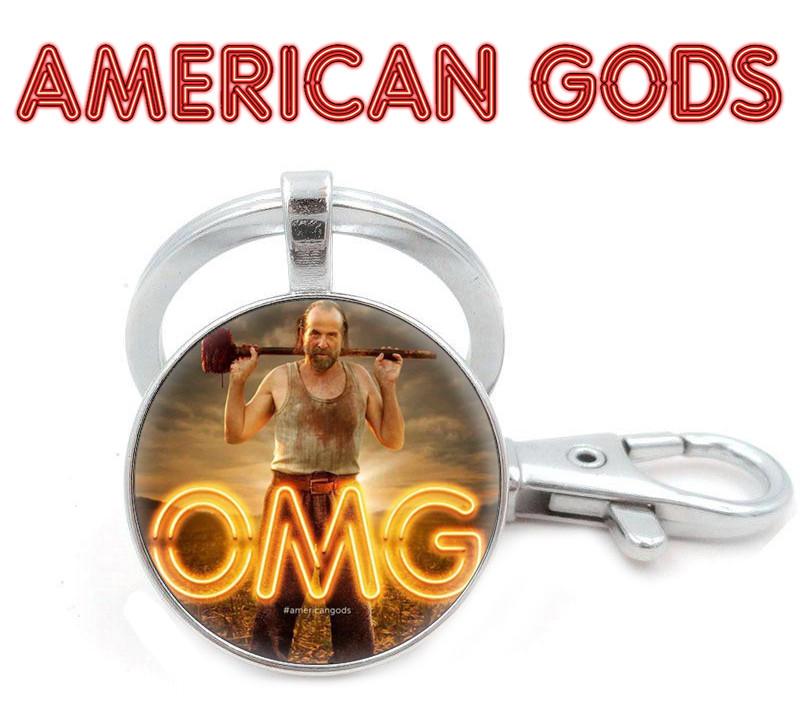 Брелок Американские боги / American Gods с изображением Чернобога