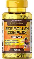 Природный антибиотик Puritan's Pride Bee Pollen Complex 1000 мг (100 капс)