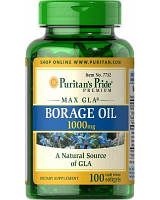 Добавка нормализирующая процесс обмена веществ Puritan's Pride Borage Oil 1000 мг (MAX GIA) (100 капс)
