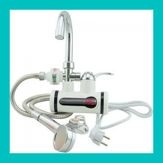Проточный водонагреватель с душем L2008