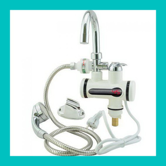 Проточный водонагреватель с душем L2008!Акция