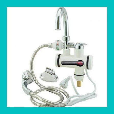 Проточный водонагреватель с душем L2008!Акция, фото 2