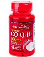 Антиоксидант для поддержки сердечно-сосудистой системы Puritan's Pride Q SORB Co Q 10 30 мг plus L-Carnitine 250 мг (60 капс)