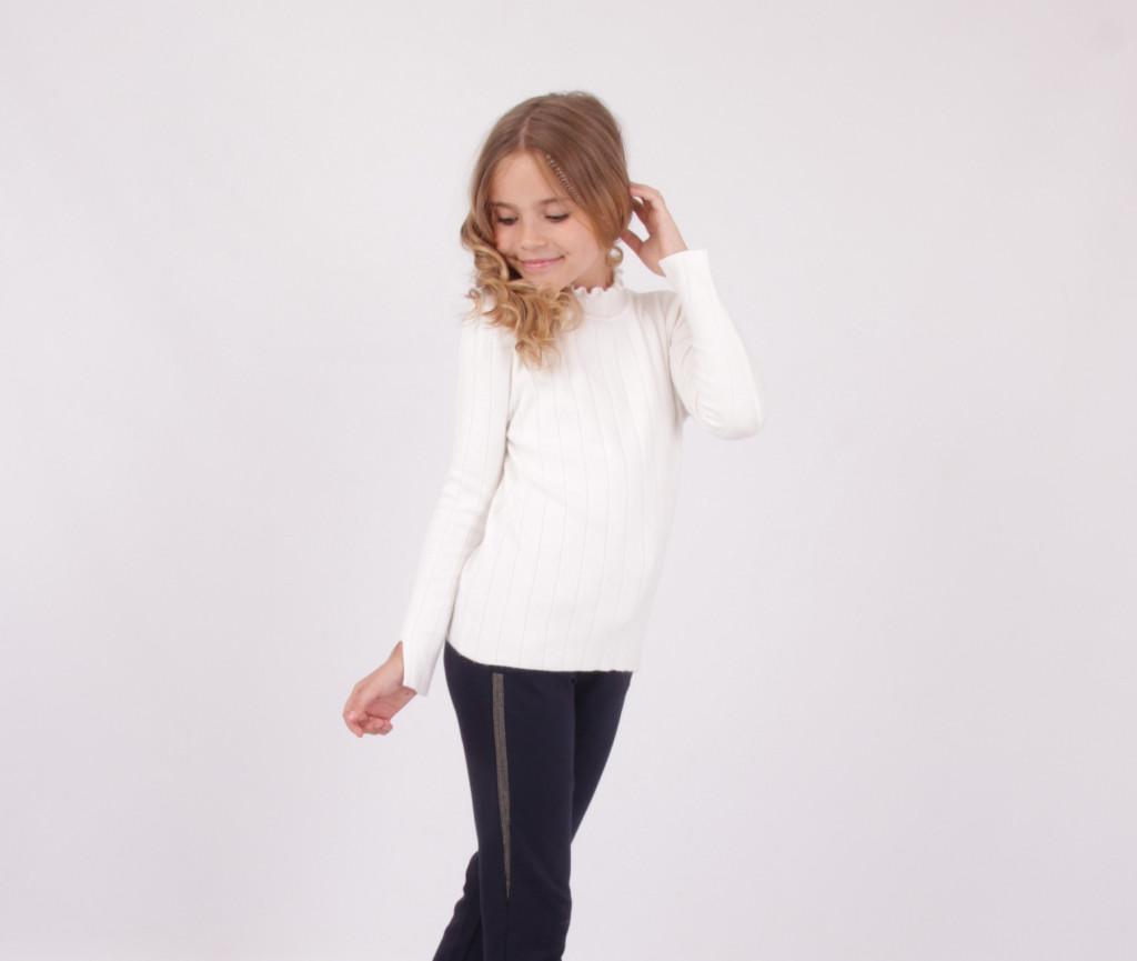 Детский школьный свитер для девочки от BEAR RICHI 288006 | 130-162р.