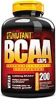 BCAA аминокислоты PVL Mutant BCAA (200 капс)