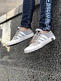 Брендовые Женские Кроссовки Adidas серые Качество Премиум Стильные Адидас реплика 36 37 38 39 40р, фото 2