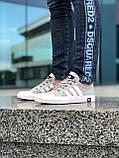 Брендовые Женские Кроссовки Adidas серые Качество Премиум Стильные Адидас реплика 36 37 38 39 40р, фото 3