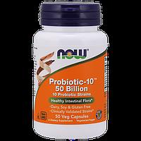Активное долголетие NOW Probiotic 10 25 Billion (50 капс)