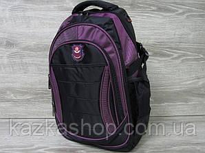 Школьный прочный рюкзак, несколько отделов, s-образные лямки 28х43