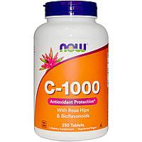 Витамин С Now Foods Vitamin С 1000 (250 таблеток)