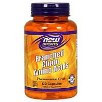 Аминокислоты Now Foods Branched Chain Amino Acids (240 капсул)