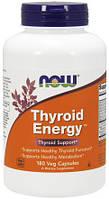 Комплекс для щитовидной Железы Now Foods Thyroid Energy (180 желевых капсул)