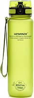 Пляшка для води Uzspace Frosted 500 мл зелена, фото 1