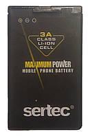 Аккумуляторная батарея Sertec (BL-4U)