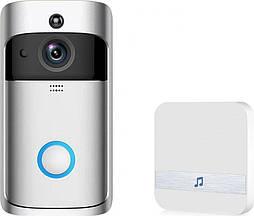 Беспроводной видеозвонок Eken V5 Смарт Wi-Fi  с динамиком