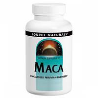 Перуанская Мака Source Naturals Maca 250 мг (30 таблеток)