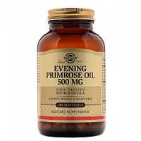 Препарат для для устранения кожных заболеваний Solgar Evening Primrose Oil 500 мг (180 желатиновых капсул)