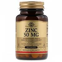 Цинк Solgar Zinc 50 мг (100 таблеток)