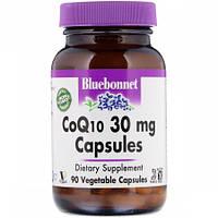 Антиоксидант для поддержки сердечно-сосудистой системы Bluebonnet Nutrition Coenzyme Q10 30 мг (90 желевых капсул)