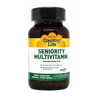 Витамины для Пожилых Country Life Seniority Multivitamin (120 желевых капсул)