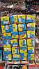 Подвеска на присоске в авто Куб, кубик подвеска символика Украины, прапор Украины - тризубец, упаковка 24 шт